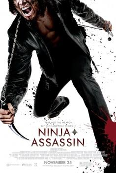The poster for Ninja Assassin.  Batman is a ninja.  He's not in this movie.